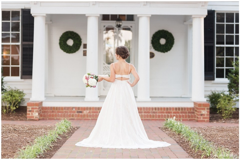 Bridal portraits in Raleigh NC