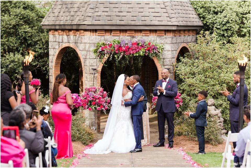Ceremony at Barclay Villa