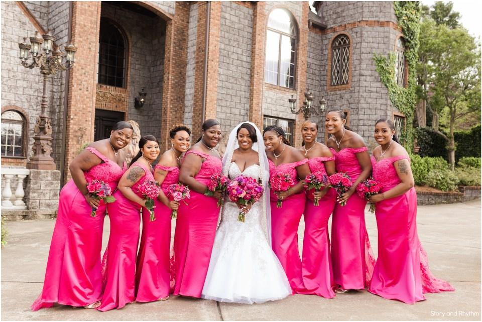 Wedding photography at Barclay Villa