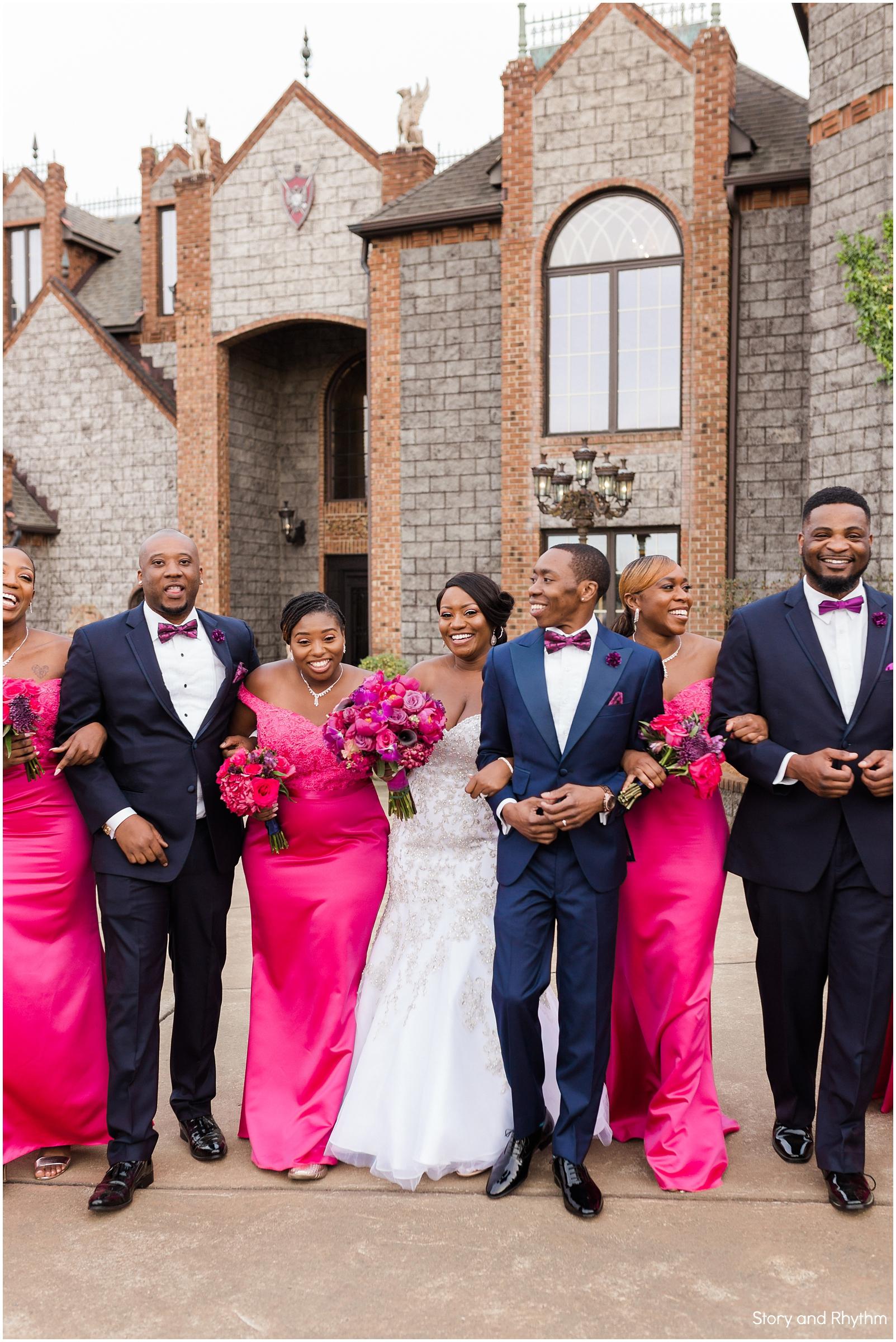 Barclay Villa wedding photographers