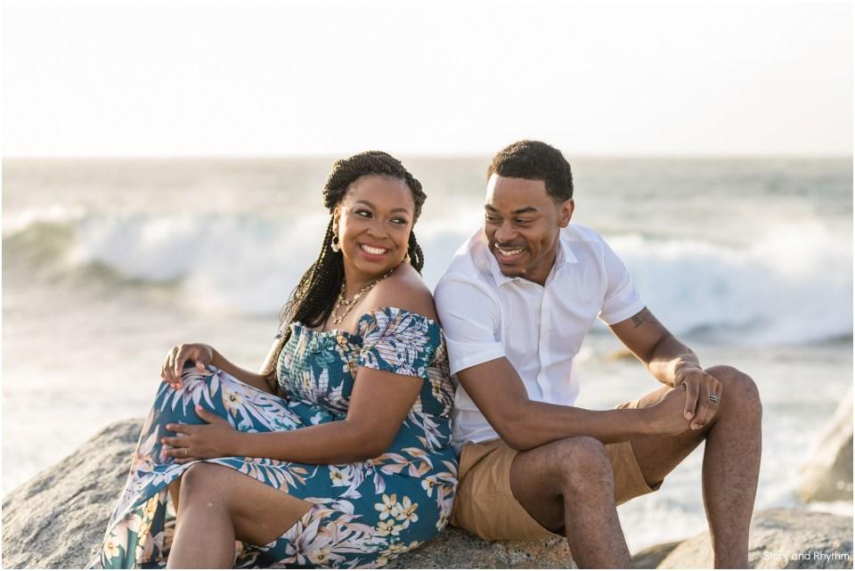 Anniversary photo shoot in Aruba