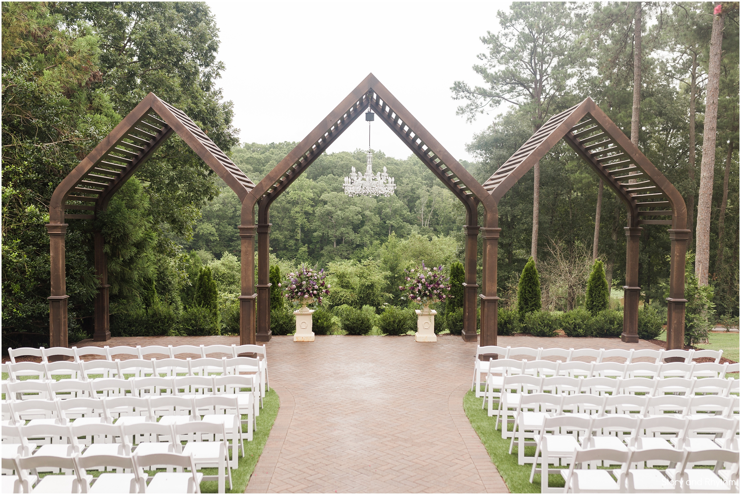 Outdoor ceremony venues in Raleigh NC