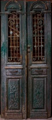 Rustic Iron Door