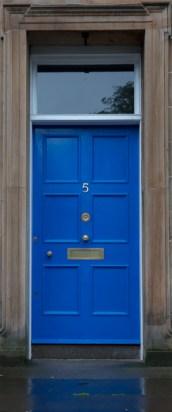 Simple Blue Door