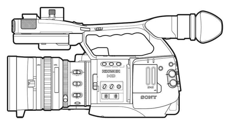 MANUAL: Sony PMW-EX1 Operating Instructions