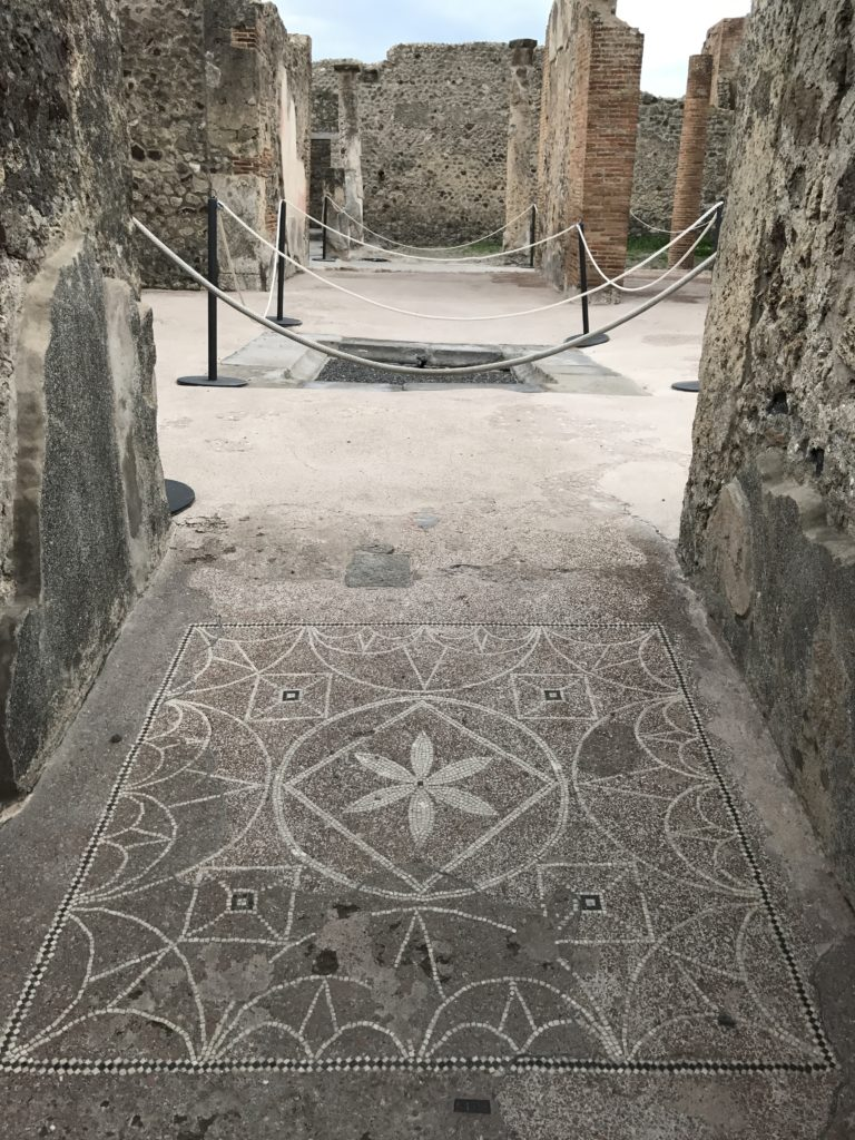 House of the geometric mosaic