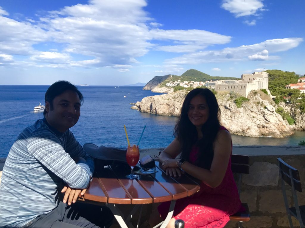 There are a few beautiful cafes on the Dubrovnik wall with great food and views.