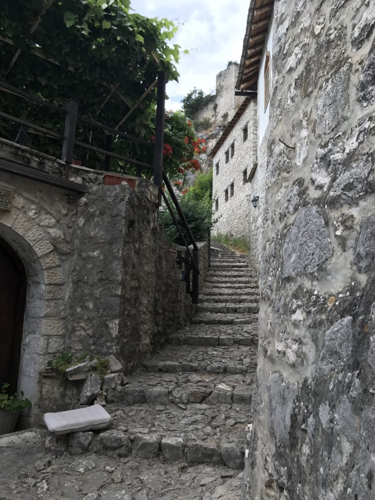 An ally in the old medieval Stone town of Pocitelj