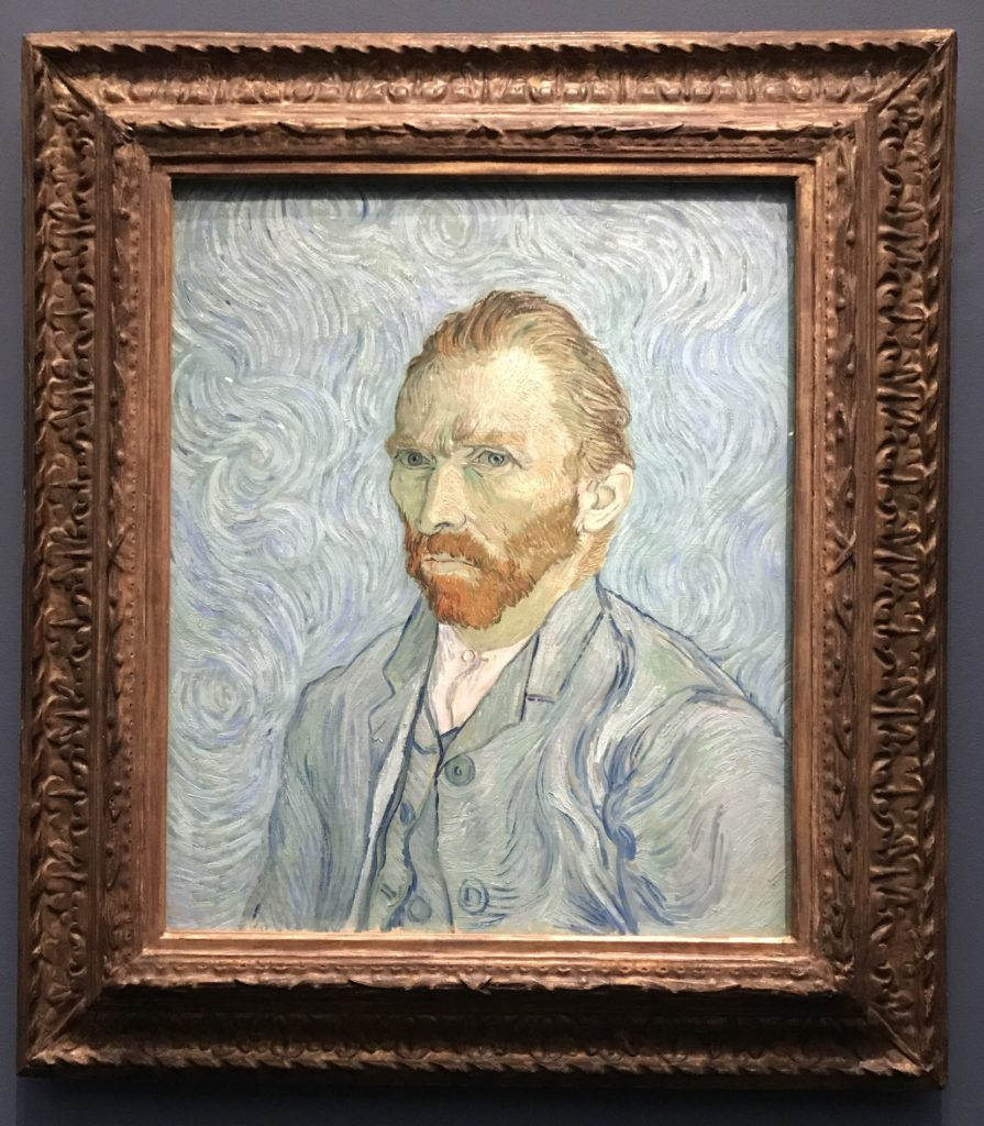 Vincent Van Gogh's self portrait
