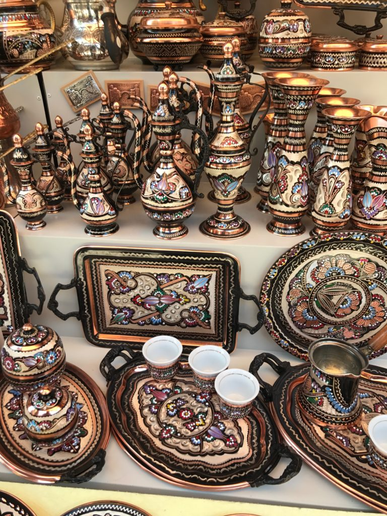 Many artisans of Mostar still make bronze art like these, wall pieces, bracelets etc