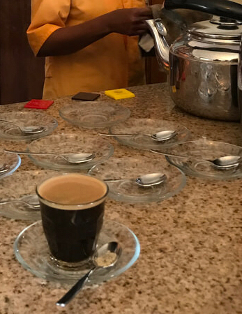 Perfect cup of Ethiopian Coffee