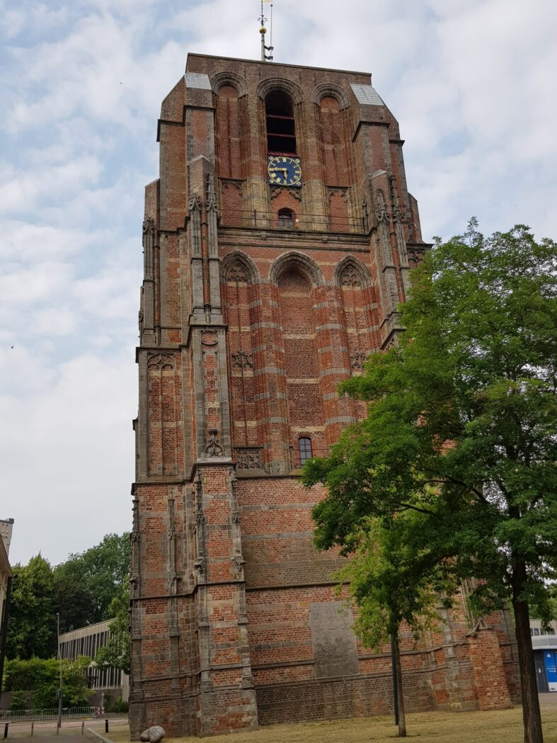 Oldehoven, Leeuwardens leaning tower, Friesland province