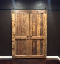 Double Sliding Barn Door