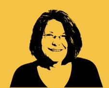 Ihre Trainerin: Pia Kleine Wieskamp, Kommunikationsexpertin und Storytellerin