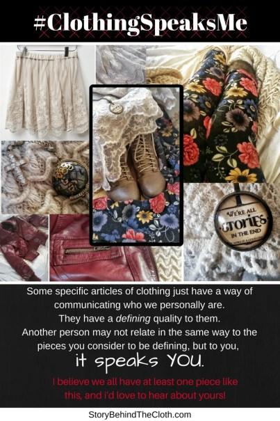 #ClothingSpeaksME