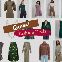 Quaint Fashion Deals: Deep Discounts on Mori Kei and Cabincore Style Clothing