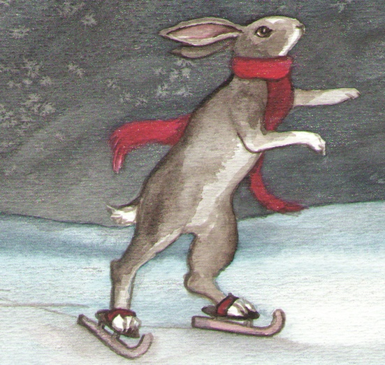 skating bunny by bluedogrose on Storybird