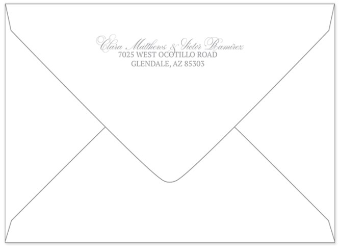 Wedding Invitation Return Address With Nice Template To Make Beautiful Design
