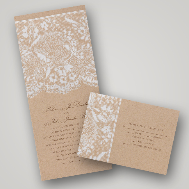 Invitations By Dawn Vintage Wedding Invitation Collection