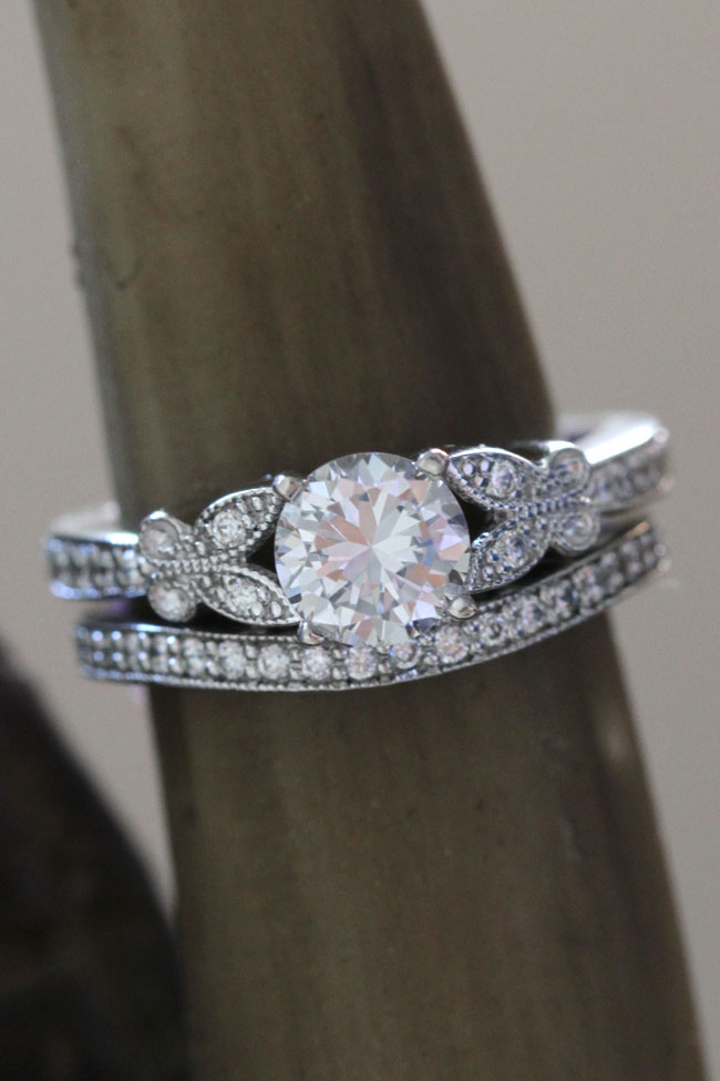 Crave Worthy Pave Diamond Engagement Rings That Will Stun