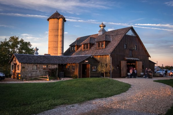 Storybook Barn at Sunset - Glendale High School Class of '67 50th Reunion. Image credit: Gary Allman
