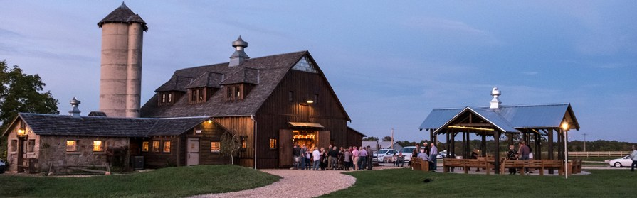 Storybook Barn at Twilight - Glendale High School Class of \'67 50th Reunion. Image credit: Gary Allman
