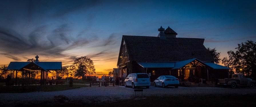 Storybook Barn at Twilight - Glendale High School Class of '67 50th Reunion. Image credit: Gary Allman