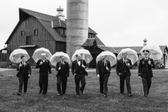 Groom and Groomsmen at Storybook Barn, Missouri