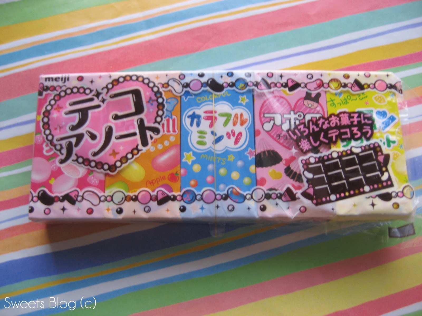 Deco Snack Review 75 Assorted Deco デコアソート Sweets Blog