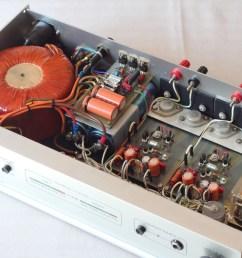 home brew hitachi mosfet power amplifier [ 1200 x 800 Pixel ]