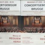 BCCO performs Verdi's Requiem, poster in Brussels