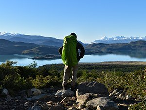 Torres del Paine lake lookout