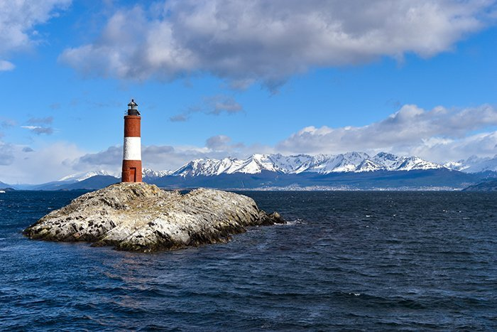 Les Eclaireurs Lighthouse - Ushuaia - Patagonia - Argentina