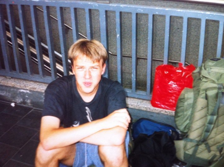 Travelling in Europe in 2001 aged 18 was an amazing opportunity and broadened my horizons