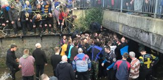 The hunt is under way for the Shrovetide ball. Photo: Cloe Astbury