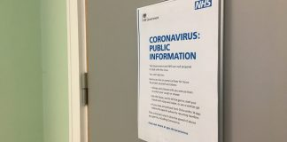 University of Derby prepares its students for a possible outbreak of coronavirus. Photo by Darion Westwood.