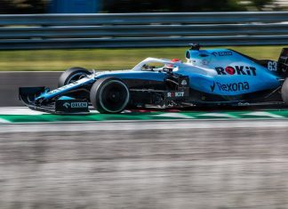 George Russell in his Williams FW42 during Formula 1 Hungarian Grand Prix 2019 on the Hungaroring