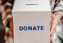 Donations box