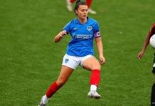 Portsmouth Women's captain Jade Bradley