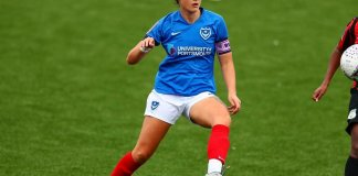 Portsmouth Women's captain Jade Bradley