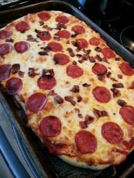 my homemade pizza