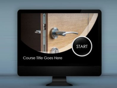 storyline e-Learning course starter template