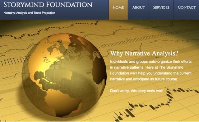 Storymind Foundation Web Page JPEG