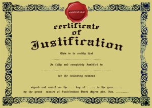 certificate-of-justificatio