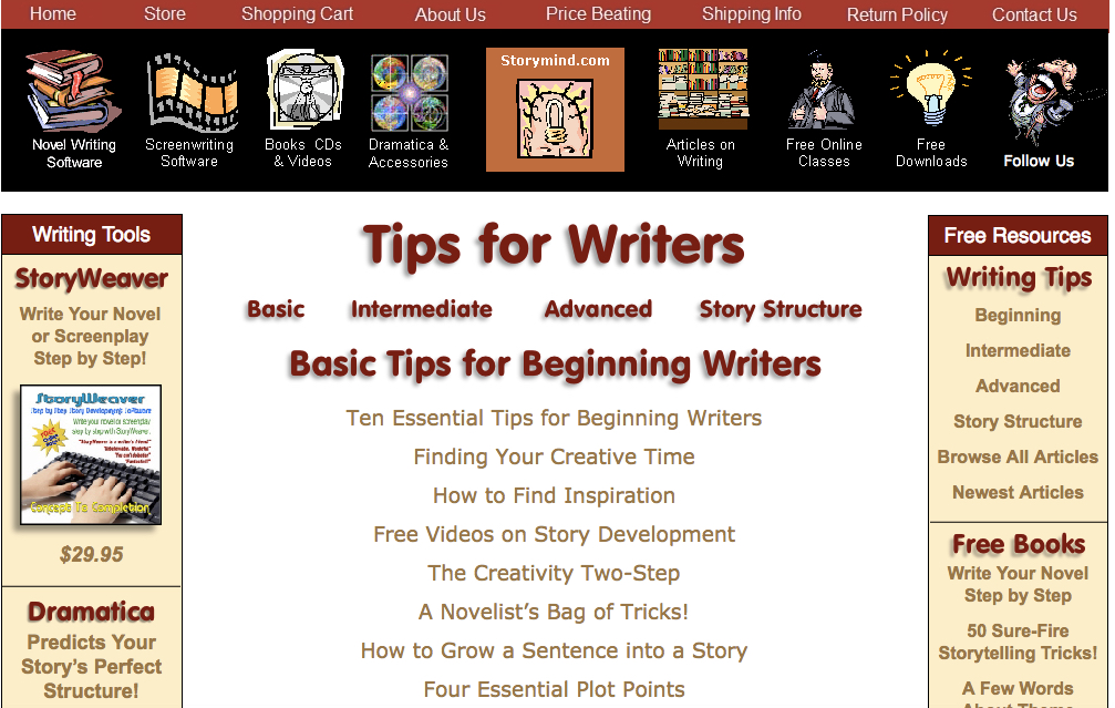 Ten rules for writing fiction