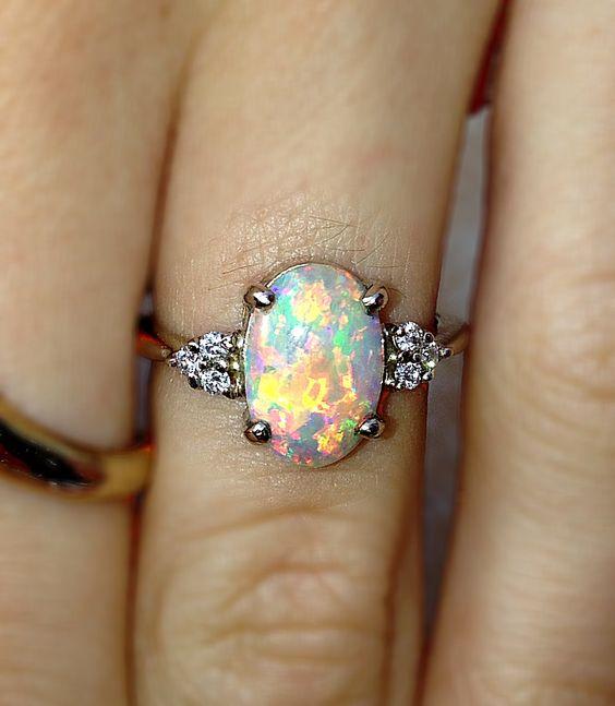 13 Colorful Engagement Ring Ideas  Weddingmix