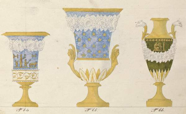 illustration of urns to show relationship to typology