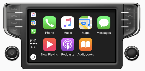 CarPlay screenshot
