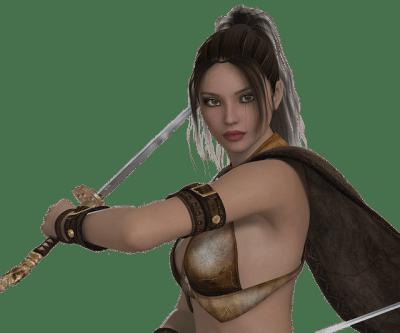 漫画・物語のキャラクターパターン『運命と戦う決意をする』キャラ