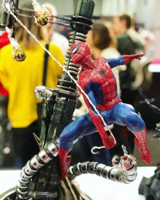 Spider-Man showcase.